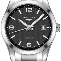 Longines Conquest Classic Steel 40mm Black United States of America, California, Moorpark