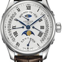Longines Master Collection Steel 44mm Silver Roman numerals United States of America, California, Moorpark