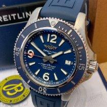 Breitling Superocean 42 Сталь 42mm Синий