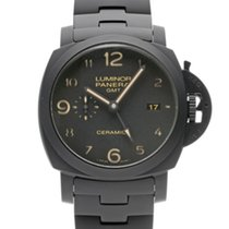 Panerai Luminor 1950 3 Days GMT Automatic 44mm Черный