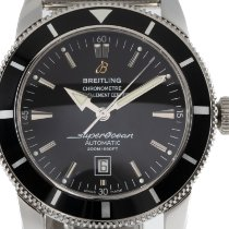 Breitling Superocean Heritage 46 Steel 46mm Black