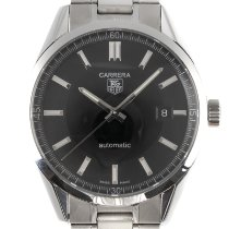 TAG Heuer Carrera Calibre 5 Acero 38.5mm Negro
