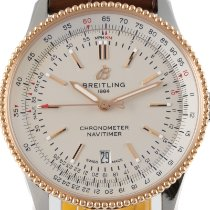 Breitling Navitimer Acero y oro 41.5mm Plata