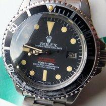 Rolex Sea-Dweller Stahl 40mm Schwarz Keine Ziffern