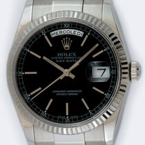 Rolex 118239 Or blanc 2005 Day-Date 36 36mm occasion