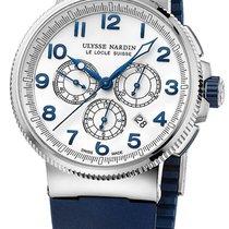 Ulysse Nardin Marine Chronograph 1503-150-3/60 New Steel 43mm Automatic UAE, Dubai