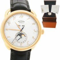 Hermès Arceau Rose gold 43mm Arabic numerals United States of America, New York, Massapequa Park