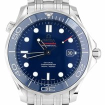 Omega Seamaster Diver 300 M Steel 41mm Blue United States of America, New York, Massapequa Park