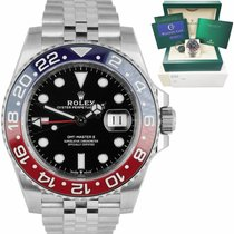 Rolex Steel GMT-Master II 40mm pre-owned