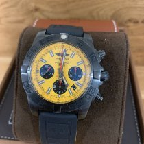 Breitling Chronomat 44 Blacksteel Acero 44mm Amarillo Sin cifras
