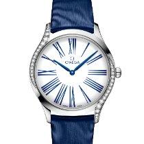 Omega De Ville Trésor neu 2020 Quarz Uhr mit Original-Box und Original-Papieren 428.17.36.60.04.001