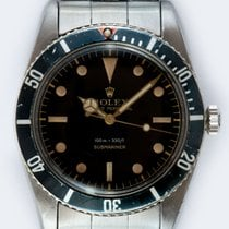 Rolex Submariner (No Date) Steel 37mm Black No numerals