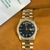 Rolex Day-Date 36 Yellow gold 36mm Black No numerals United States of America, New York, New York