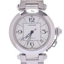 Cartier Pasha C Сталь 35mm Белый