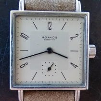 NOMOS Tetra 27 Steel 27,5mm Grey Arabic numerals
