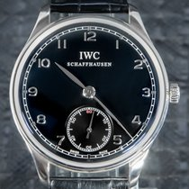 IWC Portuguese Hand-Wound IW545407 Very good Steel 44mm Manual winding