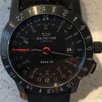 Glycine usados Automático 42mm Negro Cristal de zafiro