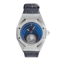 Audemars Piguet Royal Oak Concept White gold 39mm Blue No numerals United States of America, New York, New York
