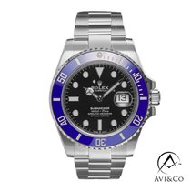 Rolex Submariner Date White gold 41mm Black No numerals United States of America, New York, New York
