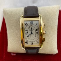 Cartier Tank Américaine Yellow gold 26mm White Roman numerals United States of America, Texas, Dallas