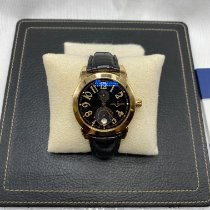 Ulysse Nardin Yellow gold Automatic Black Arabic numerals 40mm pre-owned