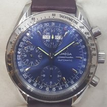 Omega Speedmaster Day Date Steel 39mm Blue No numerals United States of America, Colorado, Denver