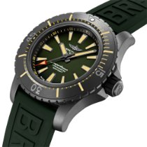 Breitling Superocean Titanium 48mm Green
