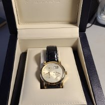 A. Lange & Söhne Lange 1 Yellow gold 38.5mm Champagne Roman numerals United States of America, New York, Brooklyn
