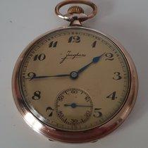 Junghans Uhr gebraucht 1960 Silber 48mm Arabisch Handaufzug Nur Uhr