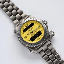 Breitling Titanium 43mm Quartz E56121 pre-owned