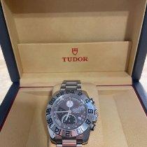 Tudor Iconaut Steel 43mm Silver No numerals
