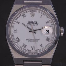 Rolex Datejust Oysterquartz Staal 36mm Wit Romeins