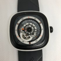 Sevenfriday P3-3 pre-owned 47mm Grey Rubber