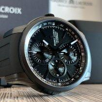 Maurice Lacroix Pontos Chronographe Acél 43 mmmm Fekete