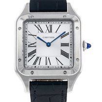 Cartier Santos Dumont WSSA0022 New Steel 43.5mm Quartz