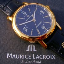 Maurice Lacroix Les Classiques Date Arany/Acél 40mm Fekete Római