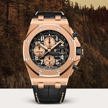 Audemars Piguet Royal Oak Offshore Chronograph Rose gold 42mm Black United States of America, New York, New York