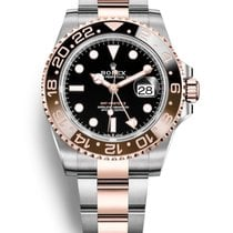 Rolex GMT-Master II Gold/Steel 40mm Black No numerals United Kingdom, Edinburgh