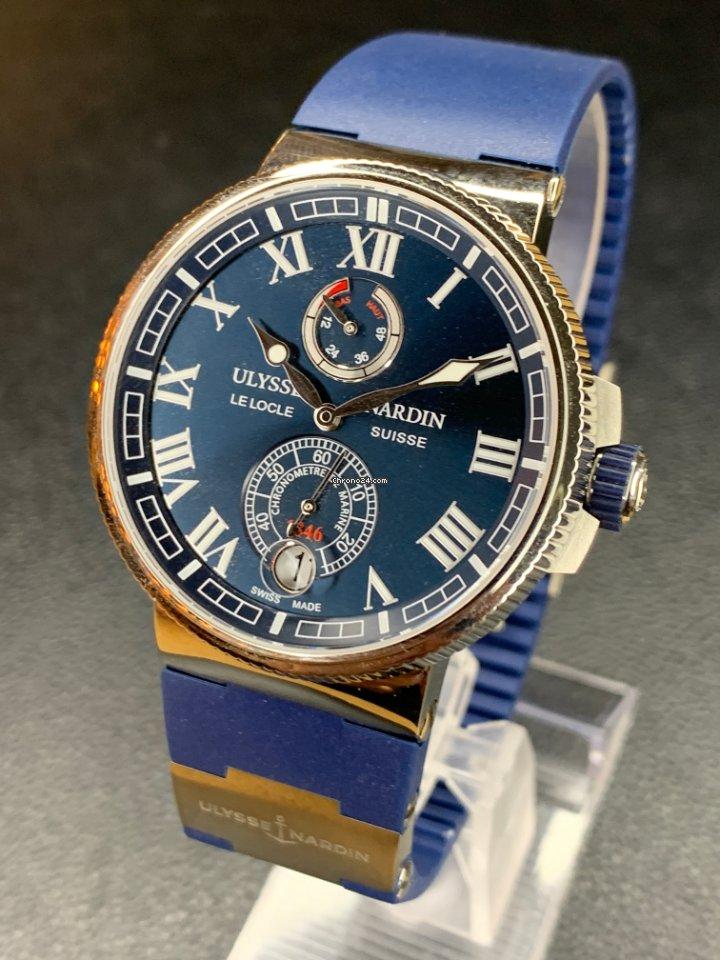 Ulysse Nardin Marine Chronometer Manufacture 1183-126-3/43 2021 ny