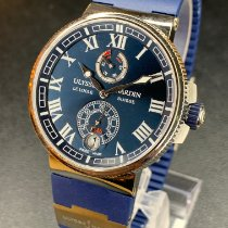 Ulysse Nardin Marine Chronometer Manufacture 1183-126-3/43 Új Acél 43mm Automata
