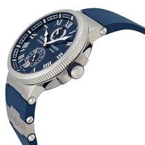 Ulysse Nardin Marine Chronometer Manufacture nouveau 2021 Remontage automatique Montre avec coffret d'origine et papiers d'origine 1183-126-3/43