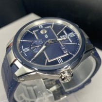 Ulysse Nardin Executive Dual Time 243-20-3/43 New Steel Automatic