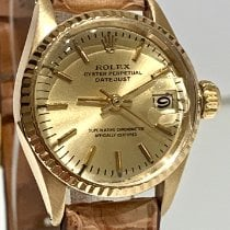 Rolex Oyster Perpetual Lady Date 6517 Good Yellow gold 26mm Automatic