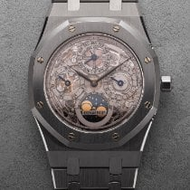Audemars Piguet Royal Oak Perpetual Calendar Acier 39mm Transparent France, Paris