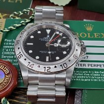 Rolex Explorer II Steel 40mm White No numerals United States of America, California