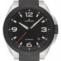 Junghans Spektrum Steel 41.6mm Black