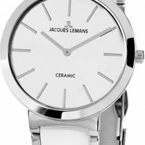 Jacques Lemans Classic Milano Steel 36mm White
