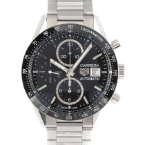 TAG Heuer Carrera Calibre 16 Steel 41.5mm Black