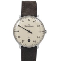 Meistersinger Steel Automatic White 36mm new Neo