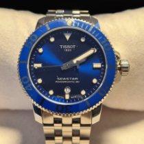 Tissot Seastar 1000 Acero 43mm Azul Sin cifras